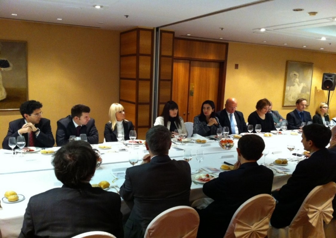 Working lunch with Deputy Minister of Economy